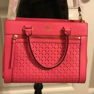 Kate Spade pink handbag - like new
